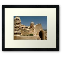 Earthship 3000 Framed Print
