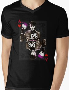 Ace of Hearts Gambit Mens V-Neck T-Shirt