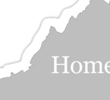 Virginia Home Tee Sticker