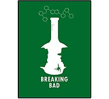 Breaking Bad Beaker  Photographic Print
