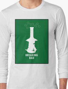 Breaking Bad Beaker  Long Sleeve T-Shirt