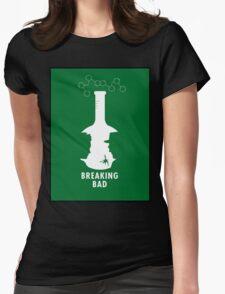 Breaking Bad Beaker  Womens Fitted T-Shirt