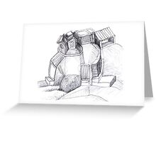 Playful Little People Village Greeting Card