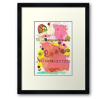 let's have a party Framed Print