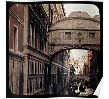MERCHANT OF VENICE - Bridge of Sighs Poster