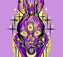 Demon Rabbit  by retkikosmos