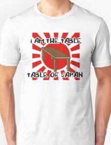 """table of japan"" Unisex T-Shirt"