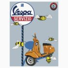 Vespa service station  Swarm Baby Blue shadow.PNG by Roydon Johnson