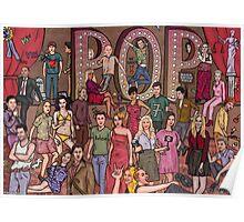 Pop music stars Poster