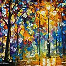 The Light Of Magic — Buy Now Link - www.etsy.com/listing/230499584 by Leonid  Afremov