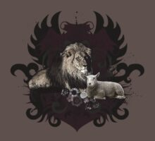 The Lion And The Lamb by Carrie Glenn