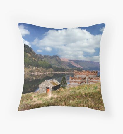 The Peaceful View Throw Pillow