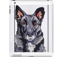 #6: JACKSON the Border Collie Labrador mix: Messages from the Dogs Oracle Deck iPad Case/Skin