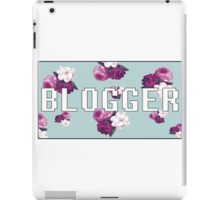 Blogger iPad Case/Skin