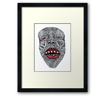 Muscle Face 1  Framed Print
