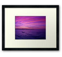 Blue Sea Framed Print