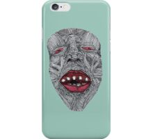 Muscle Face 1  iPhone Case/Skin