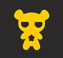 Lazy Bear Yellow Attention by XOOXOO