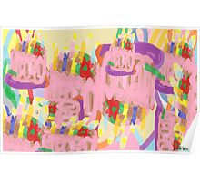 Happy Abstract Birthday! Poster