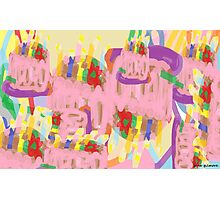 Happy Abstract Birthday! Photographic Print