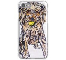 #5: Ruby the Morkie: Messages from the Dogs Oracle Deck iPhone Case/Skin