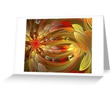 First Rays of Dawn Greeting Card
