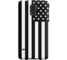 Black And White American Flag Samsung Galaxy Case/Skin