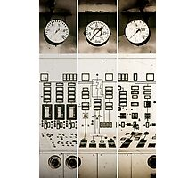 control station II Photographic Print