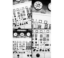 control station III Photographic Print