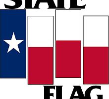 Texas State Flag (Black Flag inspired) by outsideandfree