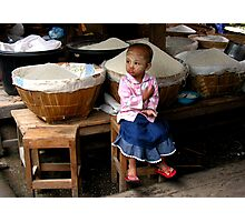RICE BABY 2 - BURMA Photographic Print