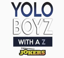 The Yolo Boys With A Z Kids Clothes