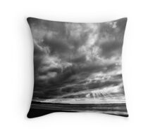 Watcher in the Storm Throw Pillow