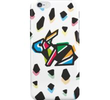 Rainbow Anigami Mr. Bunny iPhone Case/Skin