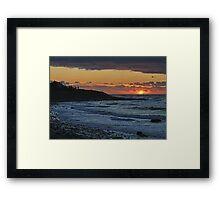 Sandford Sunset Framed Print