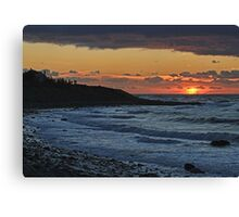 Sandford Sunset Canvas Print