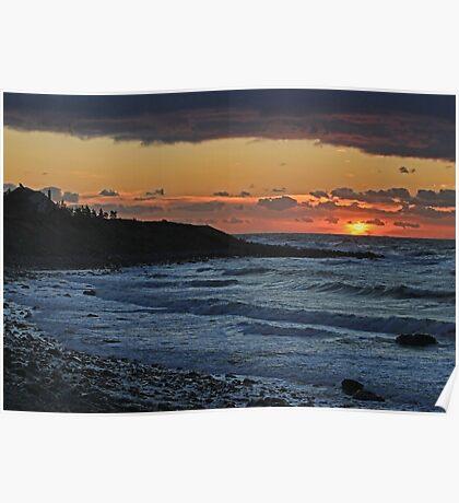 Sandford Sunset Poster