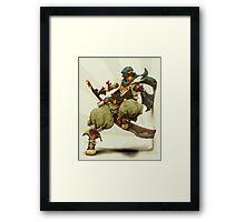 zen: king of pirate gods Framed Print
