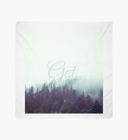 Get Lost Quote Scarf