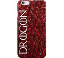 Drogon (with text) iPhone Case/Skin