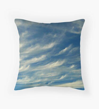 Nature's Paintbrush At Work Throw Pillow