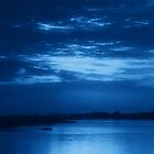 The Bay in Blue by Sandy Keeton