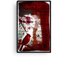 Red Redemption Canvas Print
