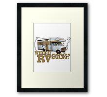 Where RV Going? Framed Print