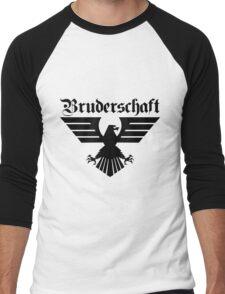 Brotherhood Eagle (Bruderschaft Bundesadler) - Black/Schwartz Men's Baseball ¾ T-Shirt