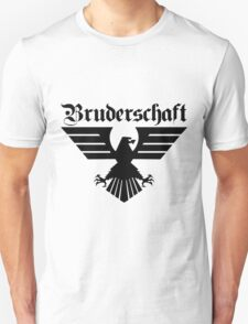 Brotherhood Eagle (Bruderschaft Bundesadler) - Black/Schwartz Unisex T-Shirt