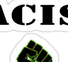 End Racism! Sticker