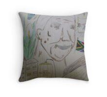 Mandela Throw Pillow
