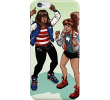 Everyone's an America Chavez fan iPhone Case/Skin