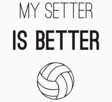 Volleyball - My setter is better by Geministik